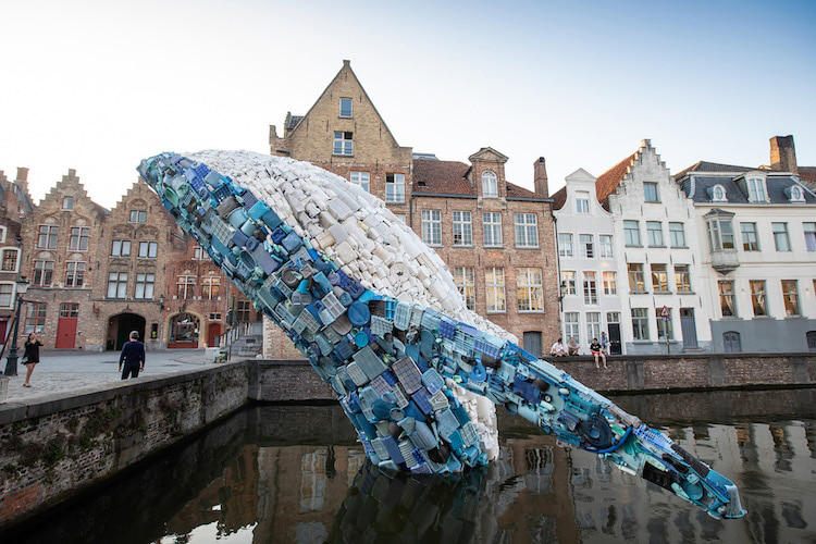 studiokca skyscraper whale installation bruges triennial belgium artworks