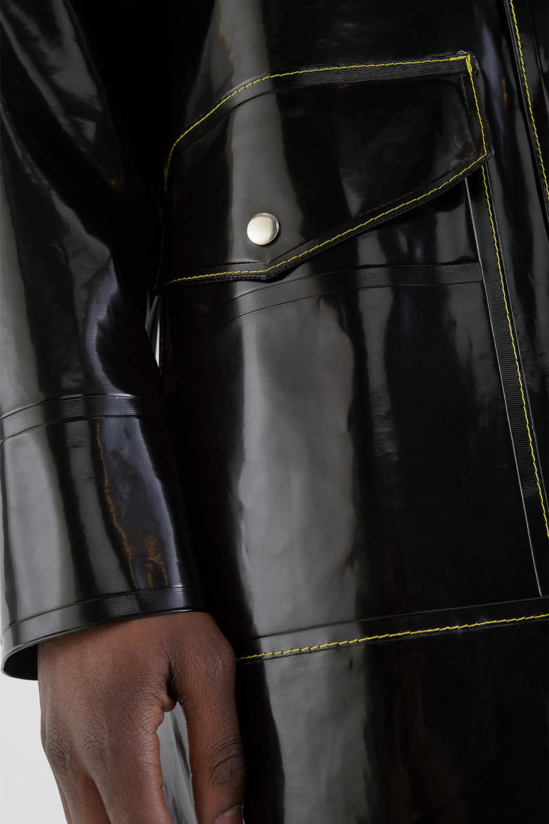 Stutterheim Marni Season 3 Collaboration 2018 release date info drop raincoat yellow stitch