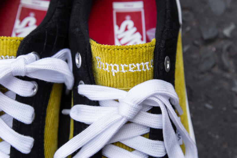 Supreme Vans Collab Collaboration Lampin Sk8-Mid Spring 2018 Collection Footwear Skateboarding New York Vans Old Skool Waffle Shoe Trainer Collaboration Collab