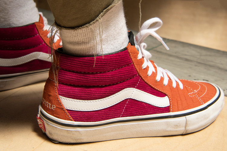 edd4a0b203 Supreme   Vans Meld Corduroy   Crocodile in Latest Footwear Collaboration