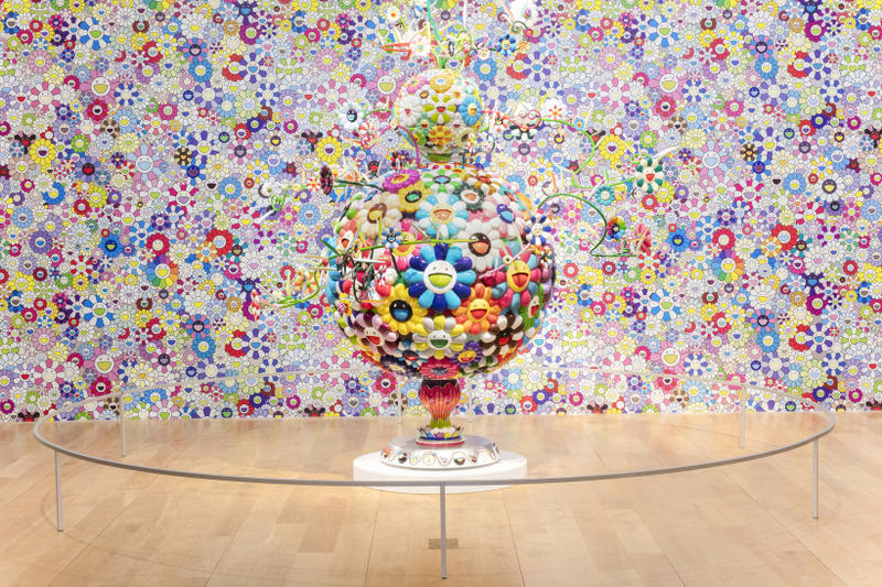 takashi murakami the octopus eats its own leg the modern museum of art fort worth texas exhibition paintings sculptures installations