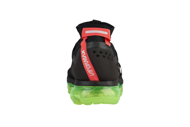3aa1cd288728 Nike Air Vapormax Flyknit Utility Black Volt Neon Green Red Black