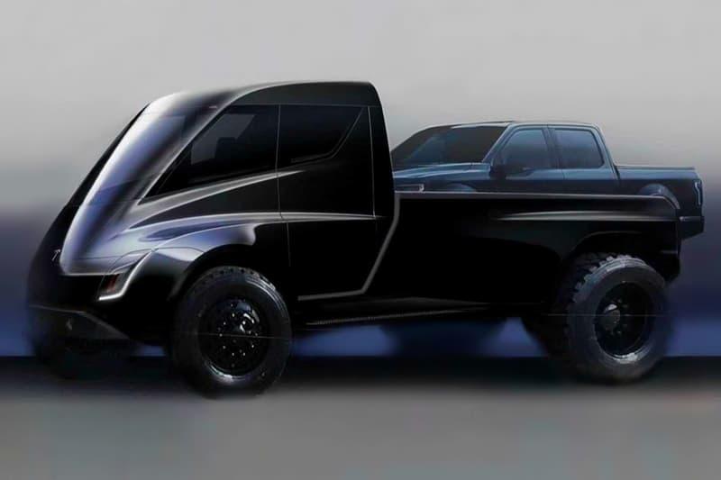 elon musk tesla pick up truck