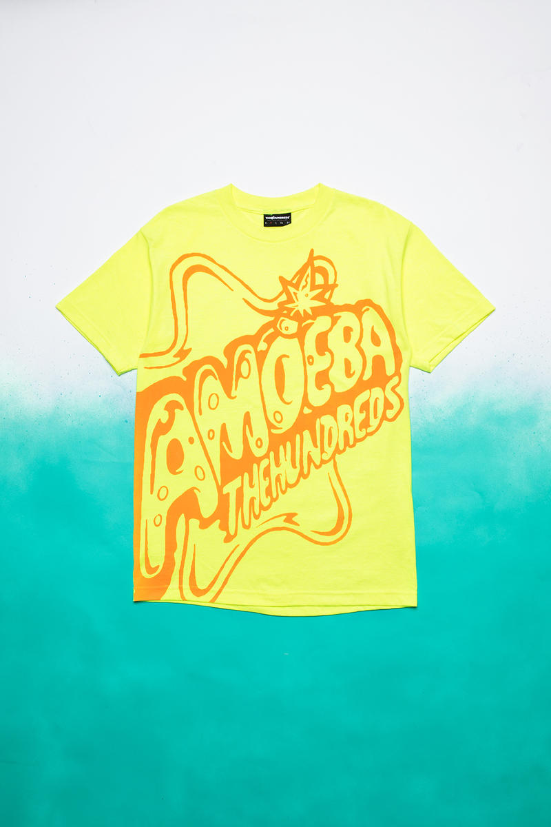 The Hundreds x Amoeba Music Collaboration release date info drop