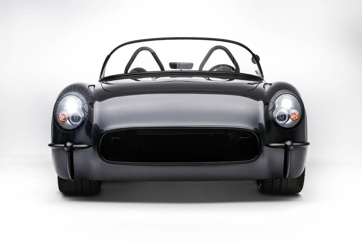 Timeless Kustoms 1954 Death Star Corvette Convertible custom bespoke cars vehicles automotive