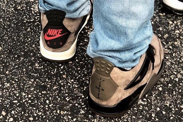 453a9897434 Travis Scott x Air Jordan 4 Khaki