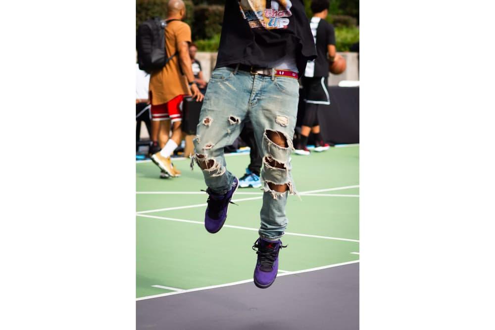 Travis Scott Air Jordan 4 Purple Better Look Brand OG Chase B Cactus Jack