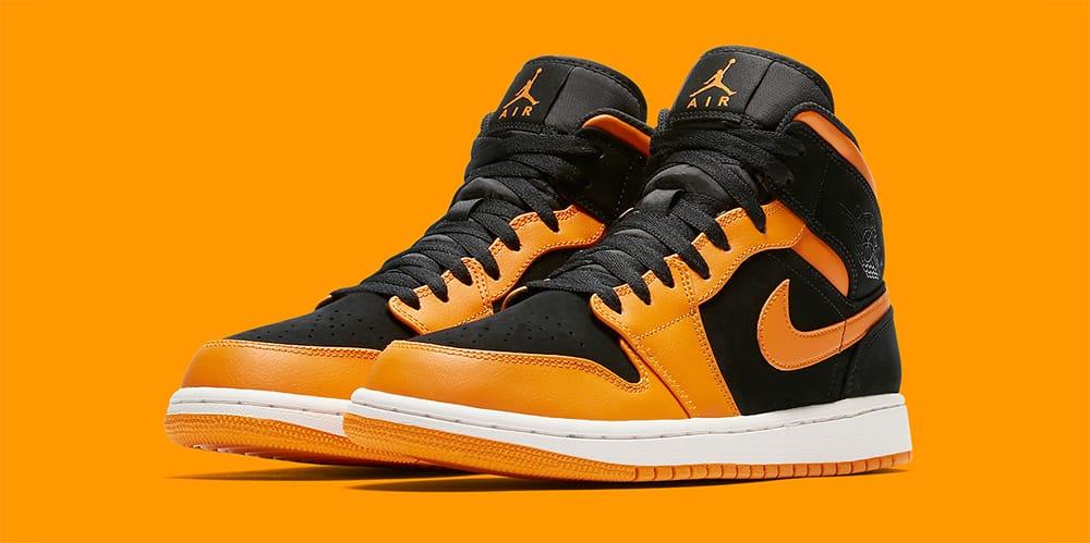 orange and black retro 1