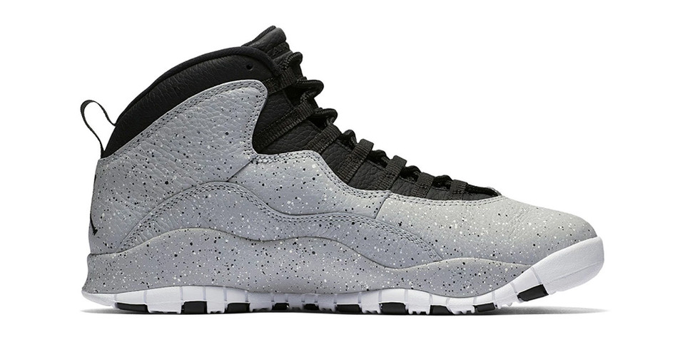 "pretty nice cdfab f664a Air Jordan 10 Retro ""Light Smoke"" Release Date   HYPEBEAST"