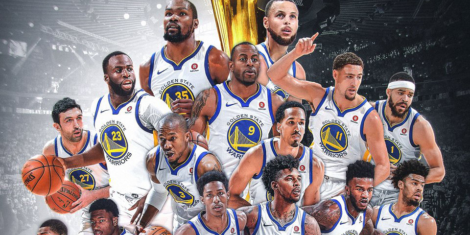 Golden State Warriors 2018 NBA Champions | HYPEBEAST
