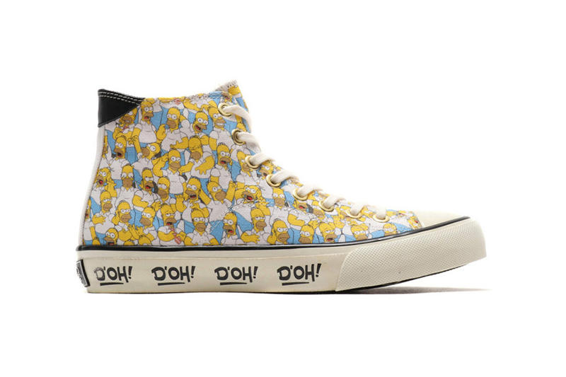 ubiq footwear the simpsons 2018