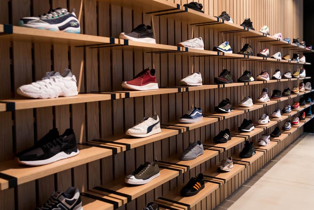 UNDEFEATED Shibuya store opening inside look photographs shop