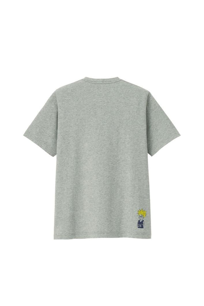 uniqlo shonen jump ut collaboration tee shirts grey dragon ball z vegeta