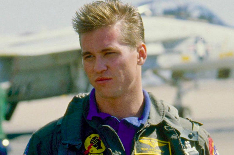"Val Kilmer ""Iceman"" Top Gun 2 Top Gun: Maveric Tom Cruise Movies Actors Hollywood Trailers"
