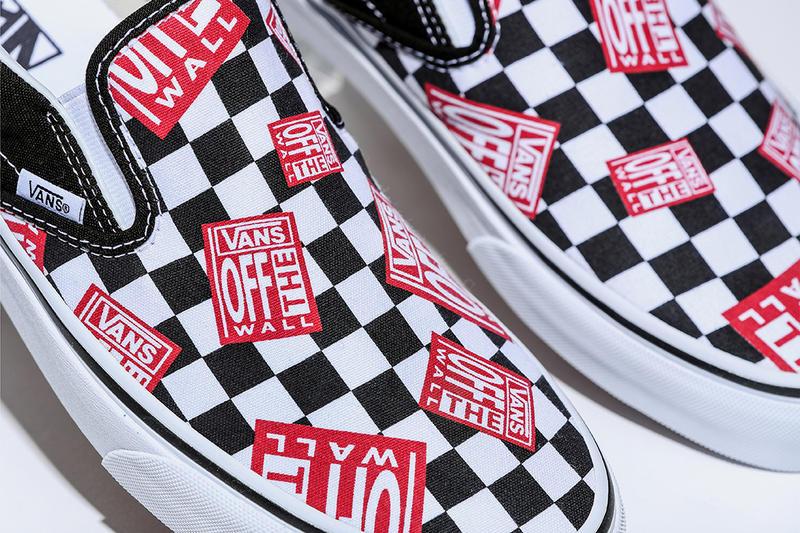 Vans Classic Slip On Off The Wall Check june 16 2018 release date info drop sneakers shoes footwear billy's exclusive online drop release
