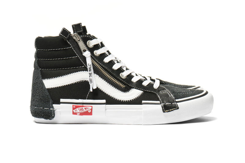 a9d9ac5768 Vans Vault SK8-Hi Slip-On Cap LX Pack black Marshmallow white off sail