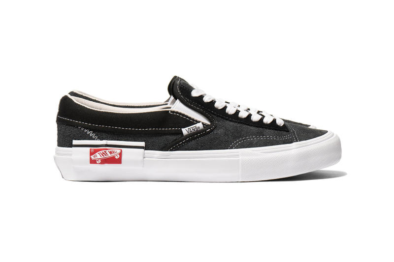 Vans Vault SK8-Hi Slip-On Cap LX Pack black Marshmallow white off sail beige tan deconstructed deconstruct virgil abloh the tenhaven shop release info june 21
