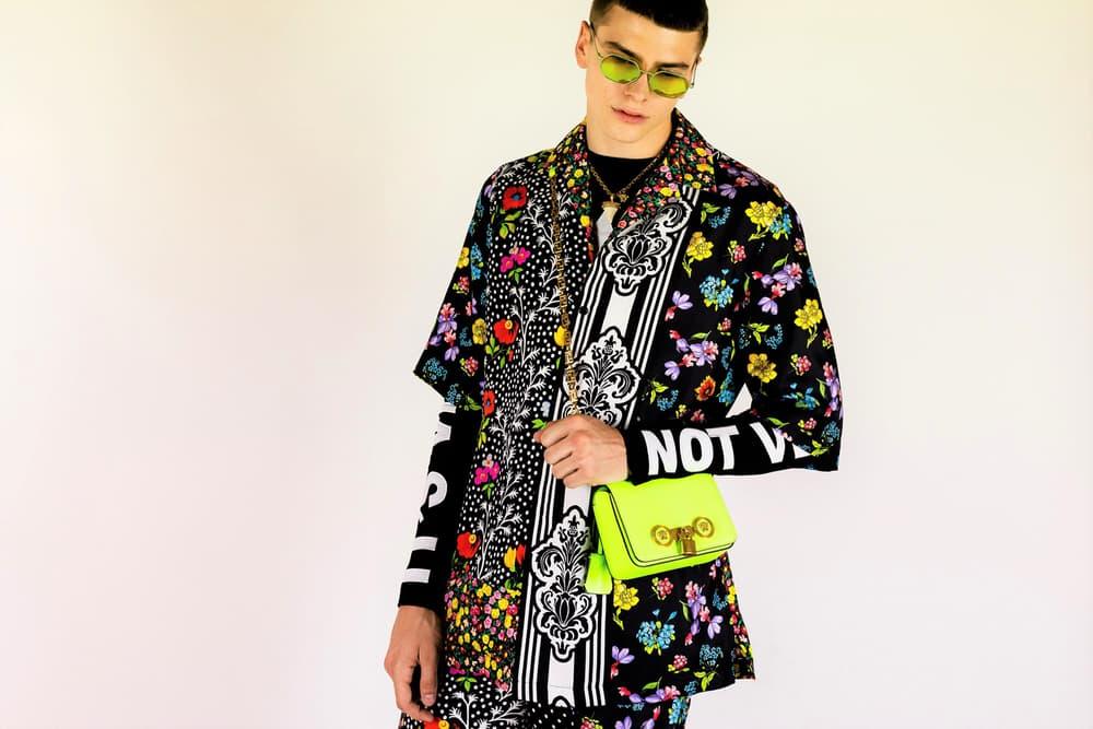 Versace Spring Summer 2019 Collection Backstage menswear milan fashion week
