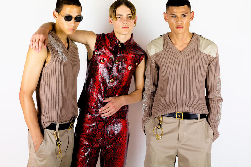 Versace Spring Summer 2019 Collection Backstage menswear milan fashion week
