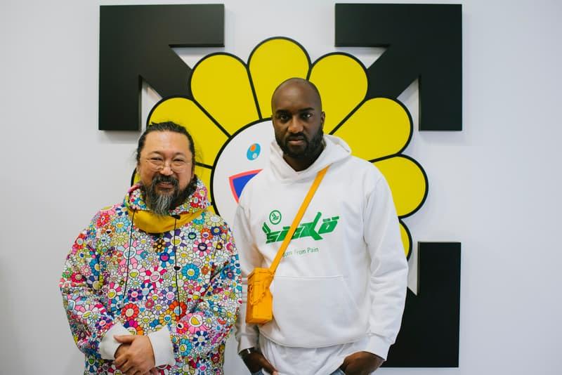 8d48ce1f115 Virgil Abloh & Takashi Murakami's