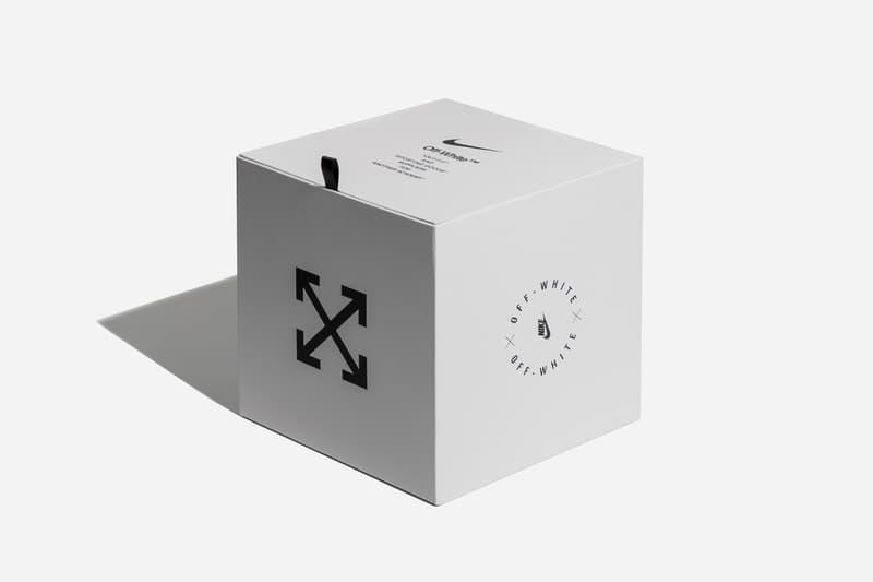 Virgil Abloh x Nike Match Ball Football Box Hypebeast Closer Look