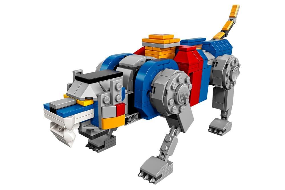 Voltron: Legendary Defender LEGO set playset dreamworks netflix