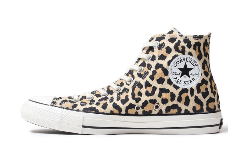 brand new 687fd 750a9 Converse Wacko Maria Chuck Taylor All Star High Hi Leopard Print Release  Information Details Drop Date
