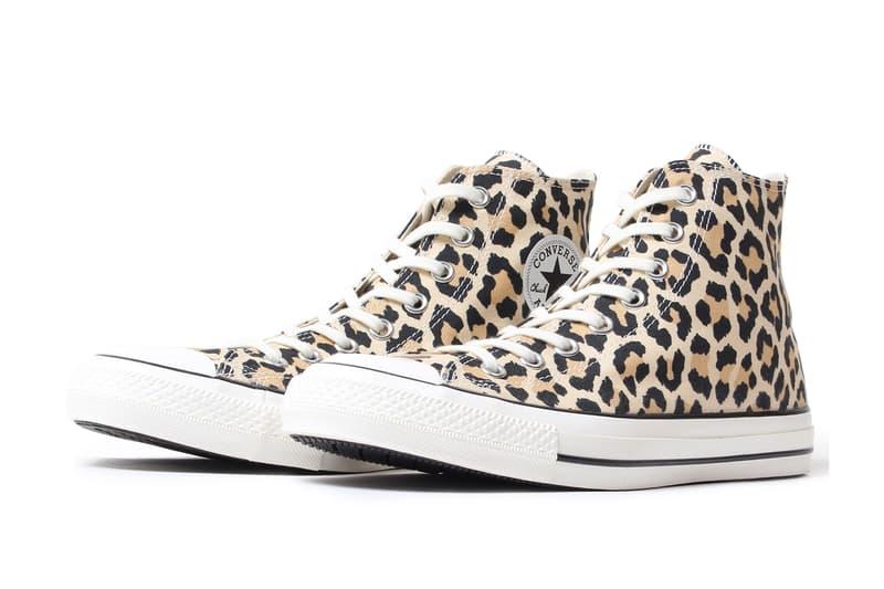 13c0c8fa69cc Converse Wacko Maria Chuck Taylor All Star High Hi Leopard Print Release  Information Details Drop Date