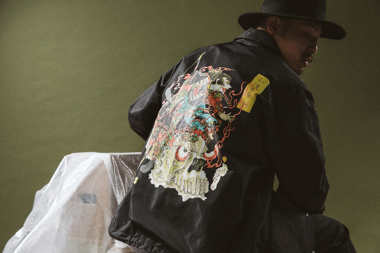 7e6b7ee4 WACKO MARIA Blends Woodblock Art With Rock 'n Roll Edge for Spring/Summer  2018
