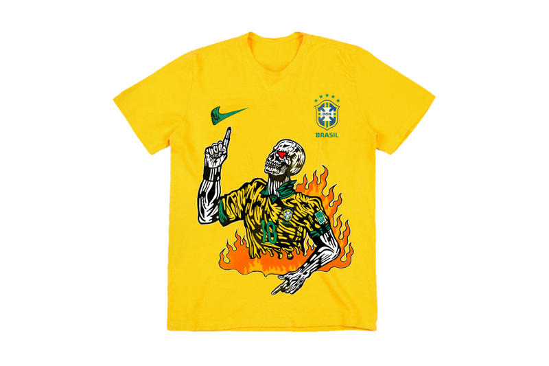 Warren Lotas World Cup Brazil Neymar T-shirt