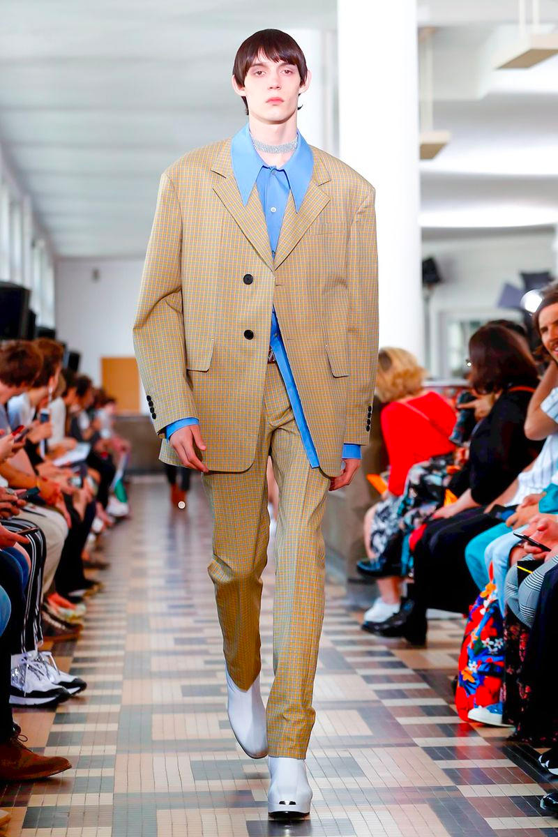 Wooyoungmi Spring Summer 2019 Paris Fashion Week katie chung david bowie