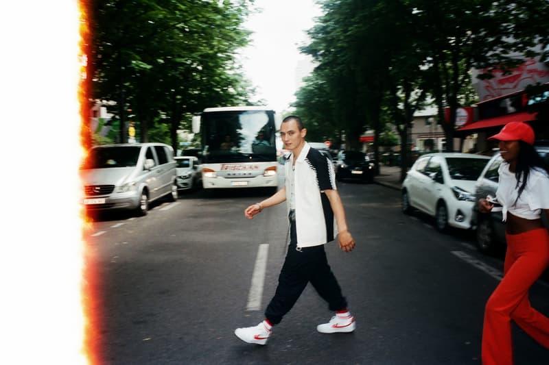 WOS33 Parisian Campaign Third Drop White Black Contrast