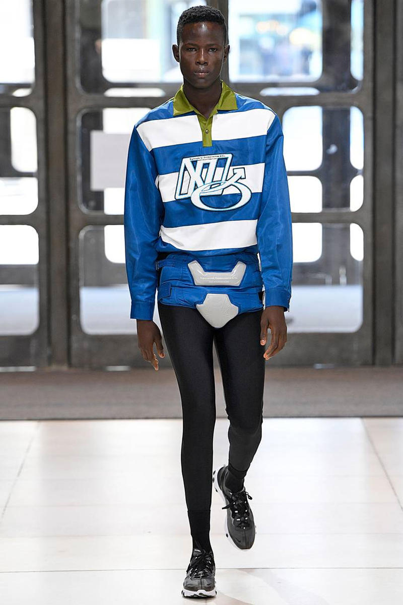 Xander Zhou Spring/Summer 2019 Collection Show menswear london fashion week pregnant aliens