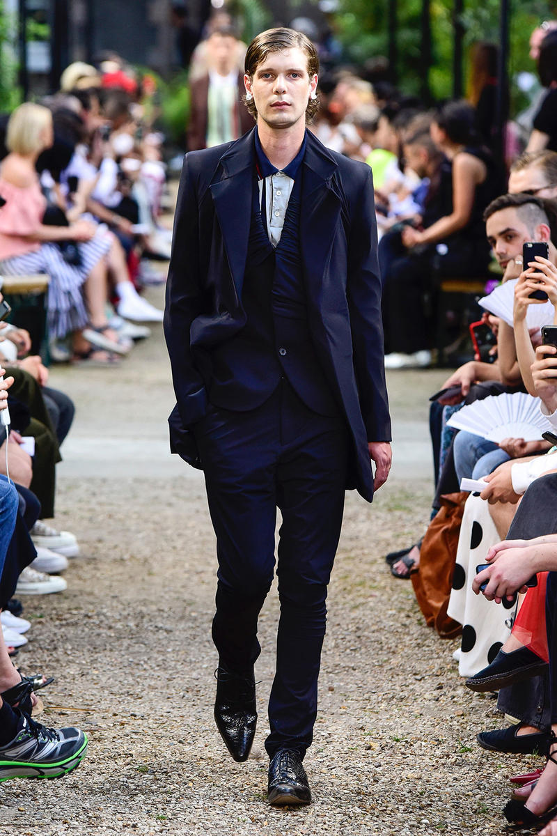 Y/Project Spring/Summer 2019 Collection Paris Fashion Week PFW Mens Suit Uggs Overcoat Glenn Martens gmBH Abasi Rosborough