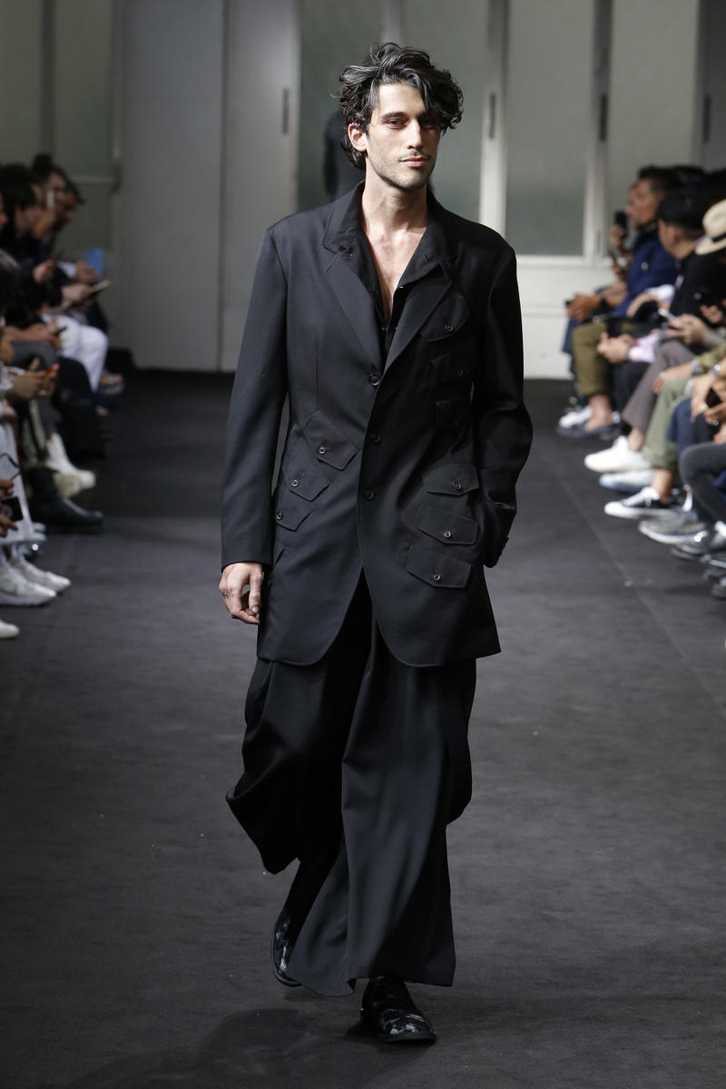 Yohji Yamamoto Spring Summer 2019 collection runway paris fashion week mens