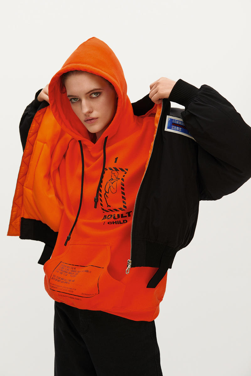 ZDDZ Fall/Winter 2018 Lookbook Collection life vests streetwear fashion