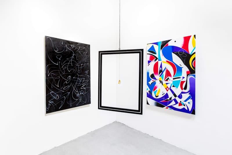 zeehan wazed abxy gallery momentum exhibition sculptures paintings art artwork