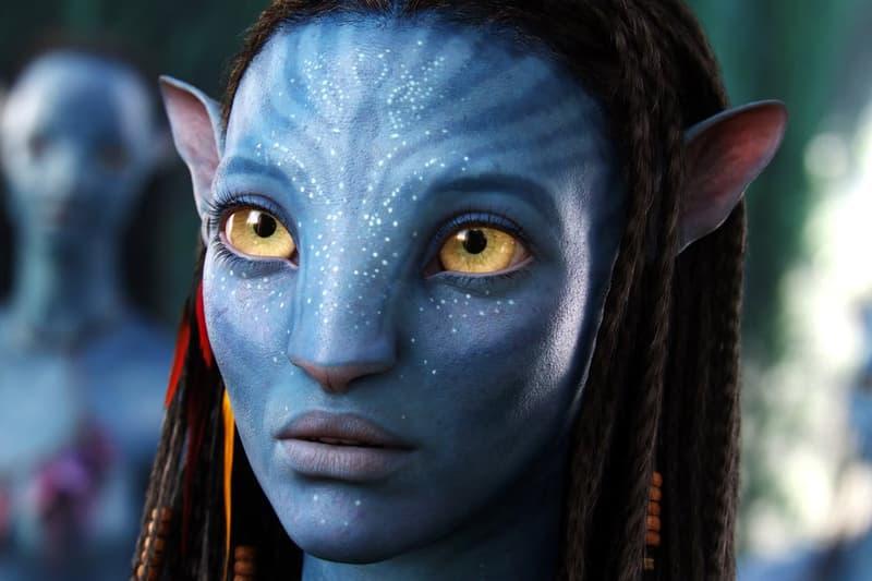 Zoe Saldana Avatar Sequels Films Movies Blockbuster Titanic Terminator James Cameron
