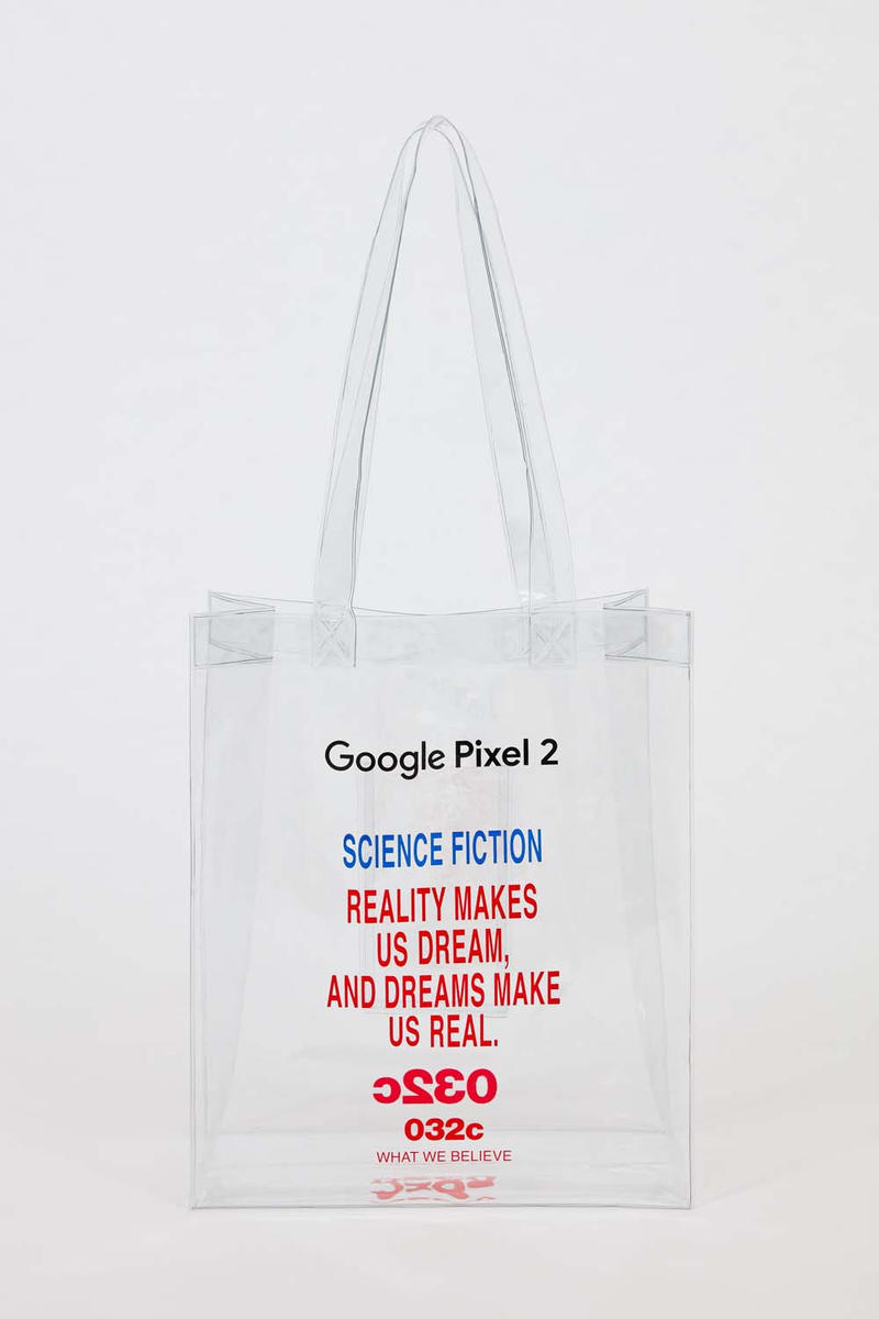032c x Google Pixel 2 Tote Bag and Live Case