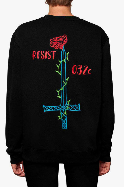032c Resist Collection 2018 summer spring sweatshirt t shirt socks pin accessories buy