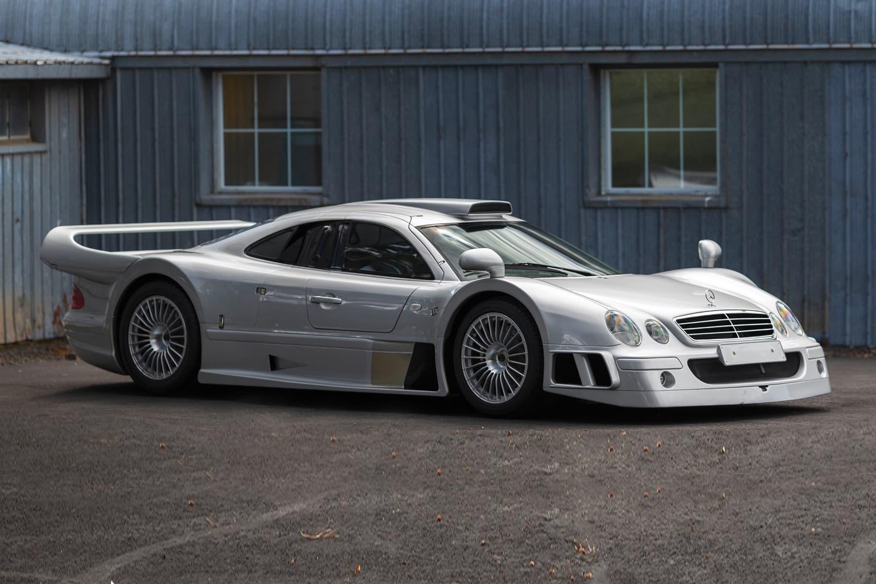 1998 Mercedes Benz Amg Clk Gtr Going For Auction Hypebeast