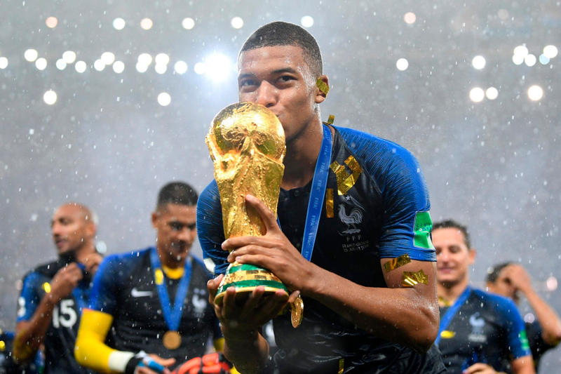 2018 FIFA World Cup Kylian Mbappé Best Young Player