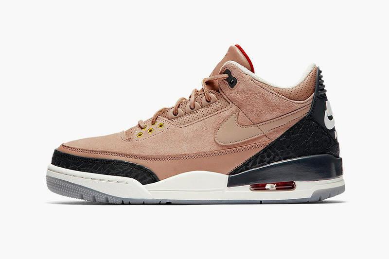a31e329fc6cc84 Justin Timberlake Air Jordan 3 JTH Bio Beige Official Look Release Info Nike  BRand