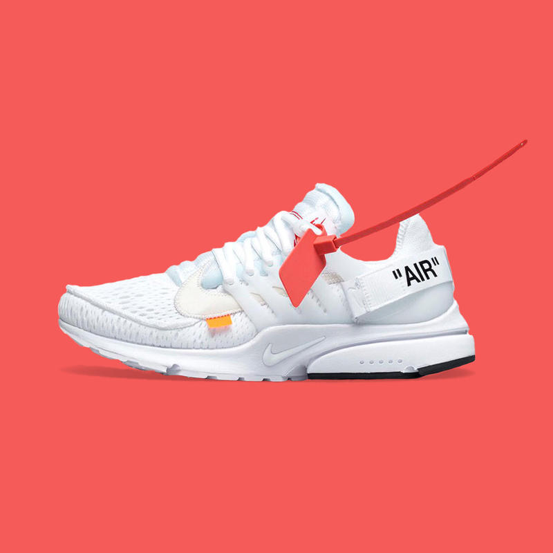Virgil Abloh x Nike Air Presto White