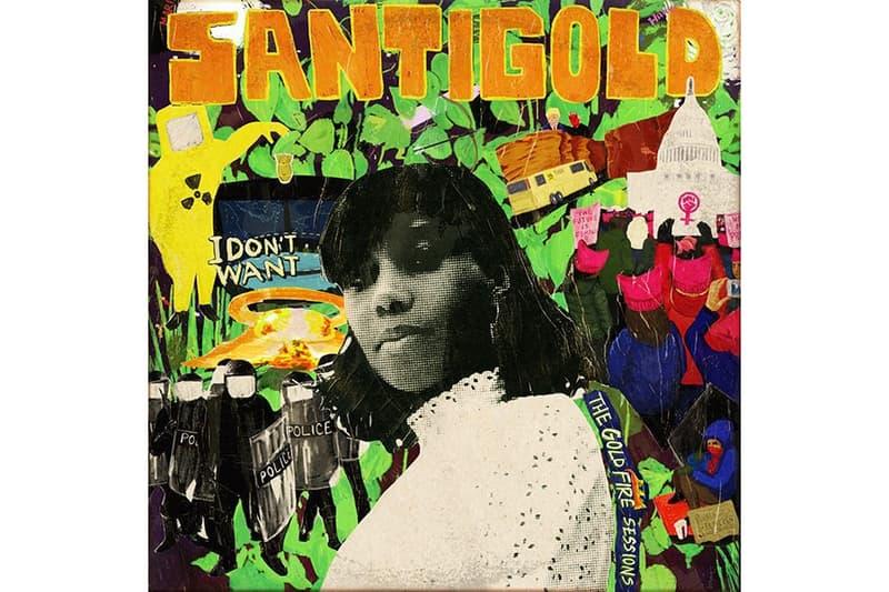 Santigold Surprise Album I Don't Want: The Gold Fire Sessions Dre Skull Diplo Ricky Blaze