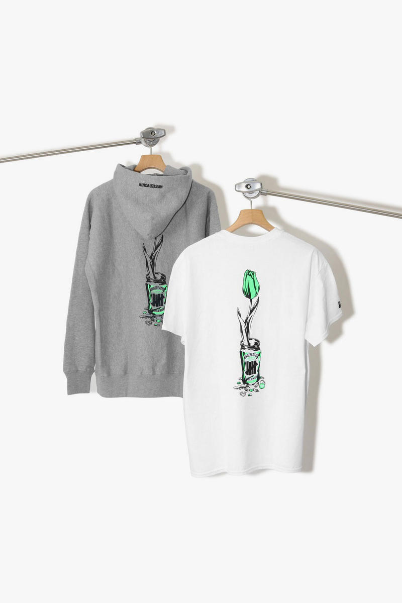 undefeated wasted youth verdy collaboration tee shirt hoodie harajuku meiji dori open july 14 2018 celebration limited graphic drop release info official japan