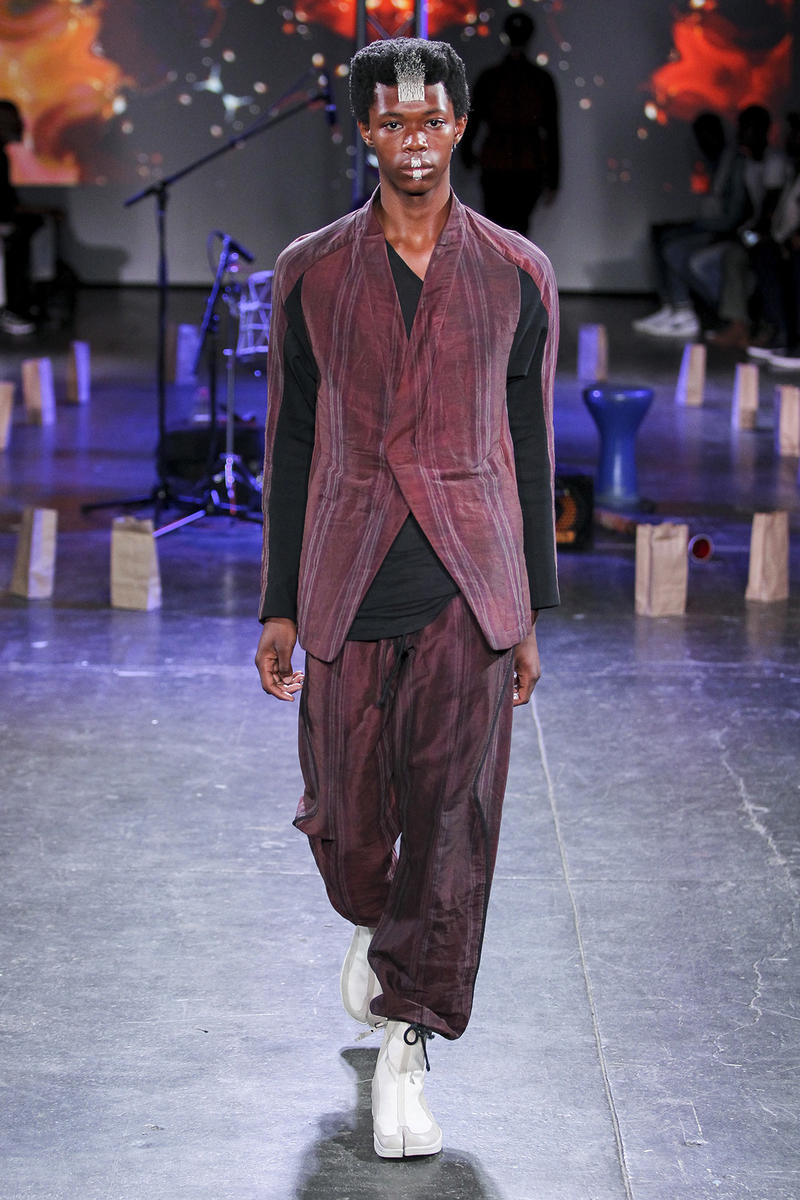 abasi rosborough spring summer 2019 runway collection new york fashion week mens presentation greg abdul desert phantom