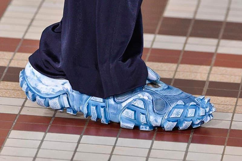Acne Studios Spring/Summer 2019 Footwearhiking trail sneaker new design chunky footwear women's paris fashion week