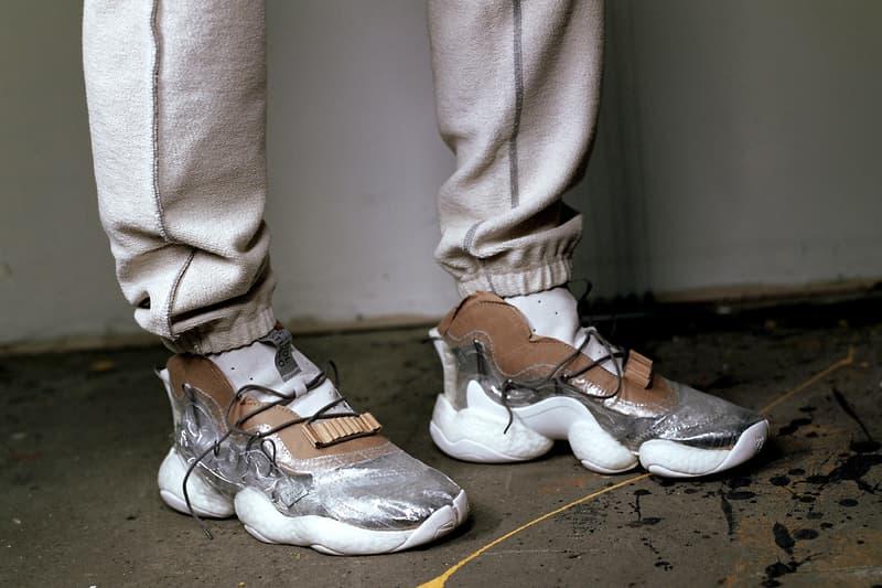 hot sales 98f5c 79d4c bristol studios adidas crazy byw the shoe surgeon custom diy raw industrial  pvc plastic cardboard bespoke