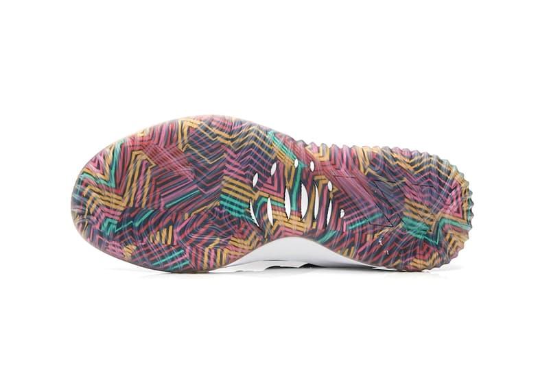timeless design 0bdd8 c9e73 adidas Dame 4 Tribal Print black grey release info damian lillard basketball